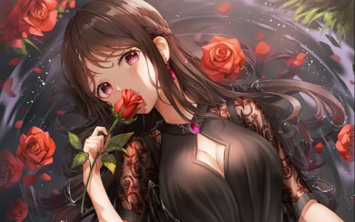 P站美图推荐——红蔷薇特辑