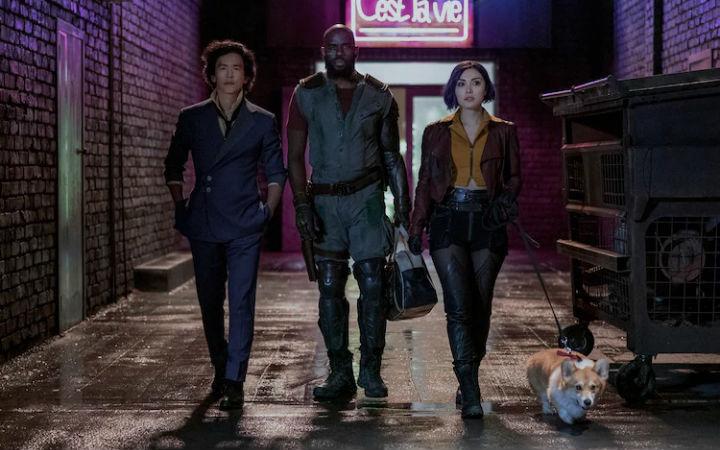 Netflix真人版《星际牛仔》11月开播 公开宣传图