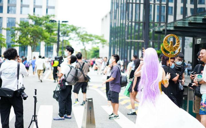上海COMICUP首届在广州举办的同人展游场报道