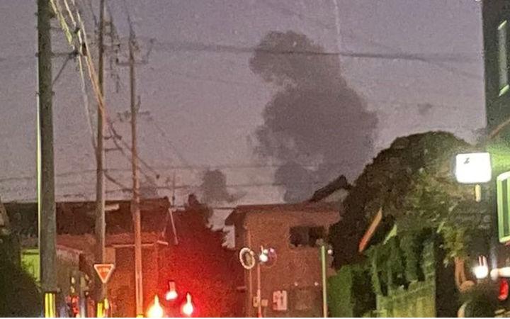 怪兽来袭?推特网友驾车时拍摄下形似哥斯拉的云