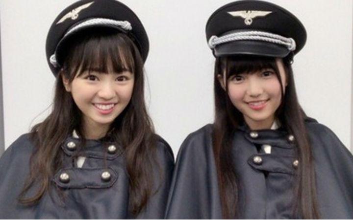 """日本偶像团体""""欅坂46""""造型疑似纳粹装 遭网友吐槽"""
