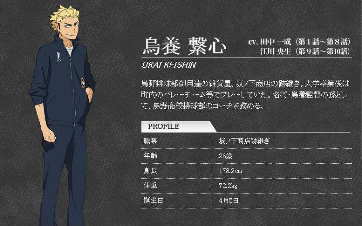 《排球少年》教练声优去世后续 替换声优为江川央生