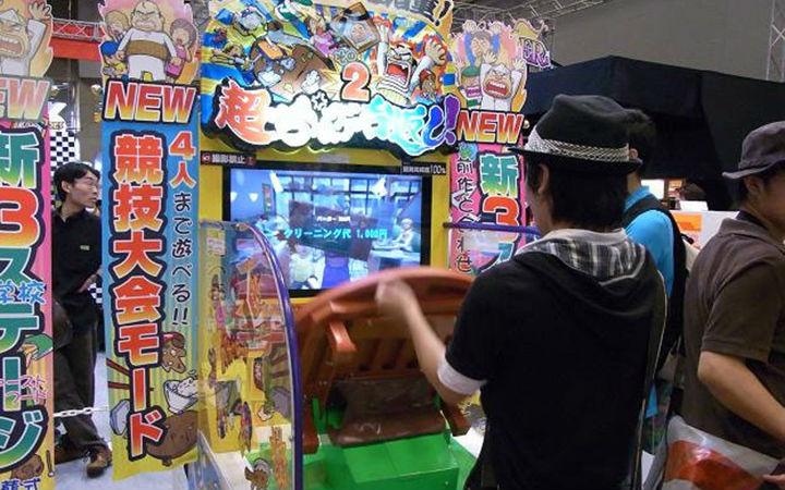 日本街机游戏早就不是你想的那样子了