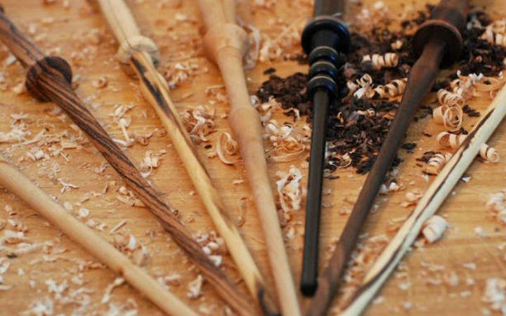 哈利波特《粉丝自制魔杖》找不到理想魔杖就只好自己做了