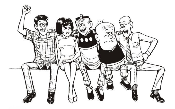 新年初始讣告:老夫子漫画作者王家禧去世