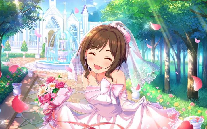 结婚现场打Call 偶像大师粉丝的别样结婚典礼