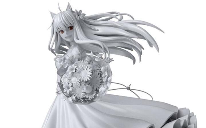 《狼与香辛料》赫萝婚纱版手办3D原型图片公开