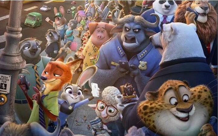 《疯狂动物城》荣获第89届奥斯卡最佳动画长片奖