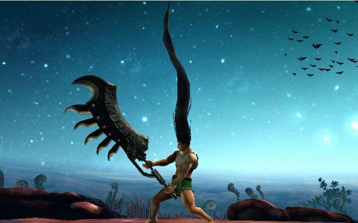 怪物猎人联动全职猎人 觉醒小杰扛着武器登场