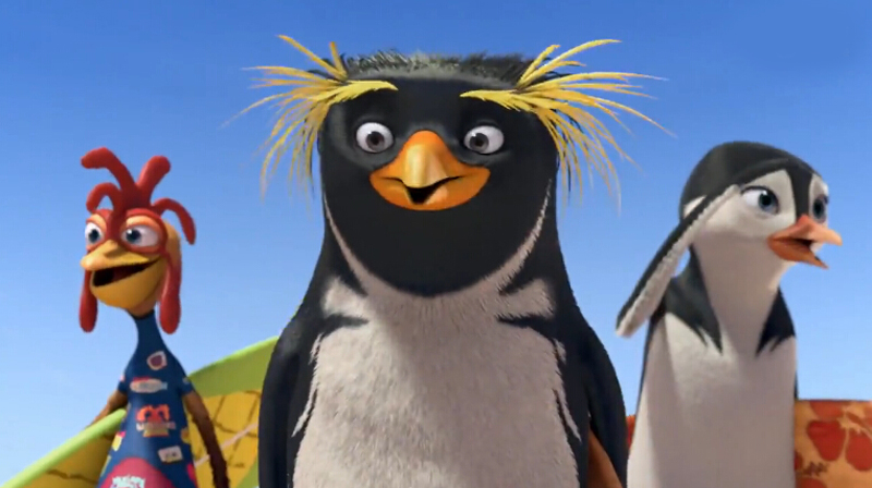 人不如企鹅 动画电影《冲浪季节2》公布首支预告片