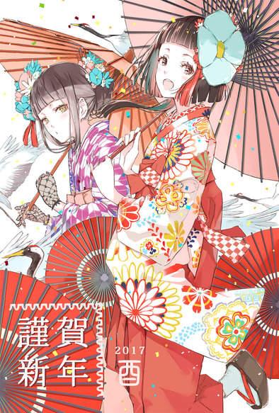 《日本邮局萌贺年卡》超「鸡」可爱~设计自己的贺年卡来交换吧❤ - 图片5