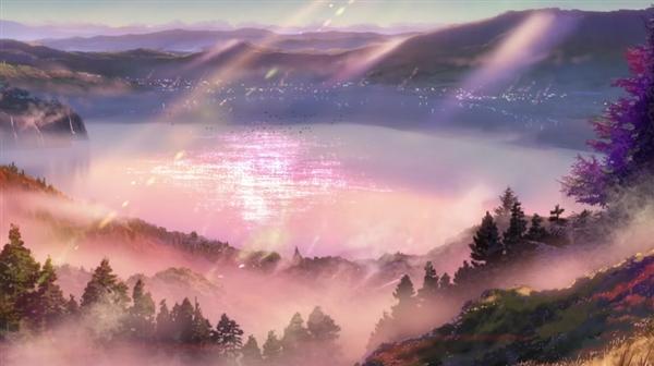 日本动画电影《你的名字。》对比现实场景:如此精良