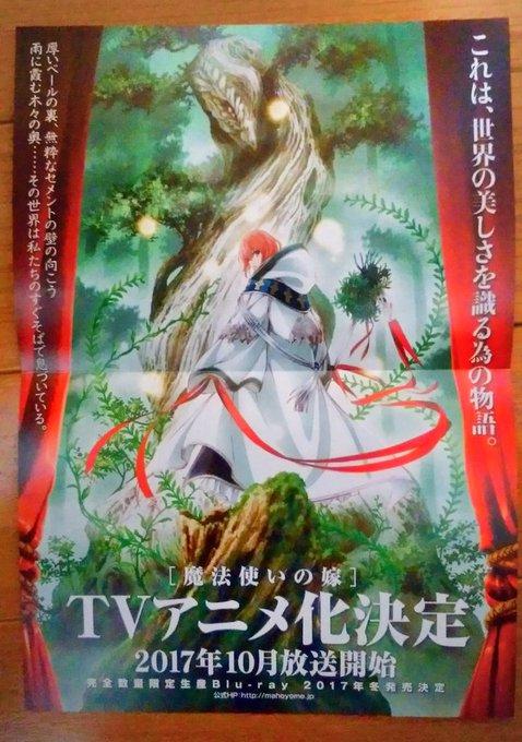 《魔法使的新娘》TV动画化决定!预计10月开播