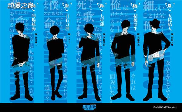 《BanG Dream!》的男性乐队企划ARGONAVIS部分人物设定