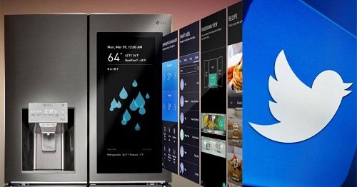 英国少女巧用冰箱发推 你对社交软件的依赖严重吗?