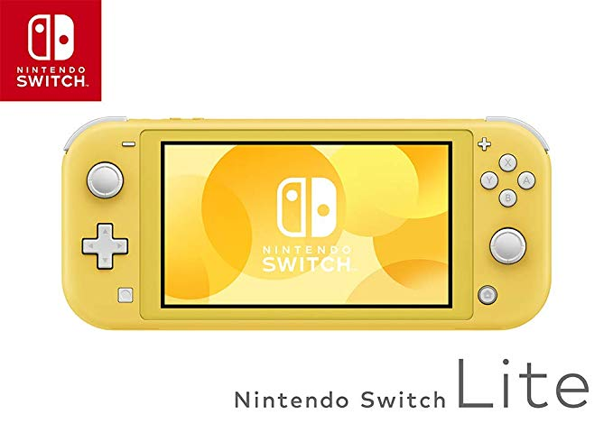 Nintendo 任天堂 Switch Lite 便携式游戏机 NS掌机 黄色.jpg