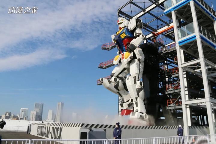 18米高的可动高达在日本横滨正式启动