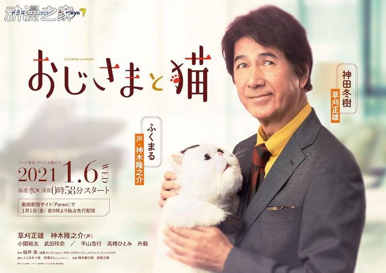 漫改日剧《大叔与猫》预告公开