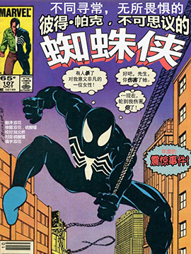 彼得·帕克,不可思议的蜘蛛侠1976