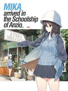 MIKA,arrived in the Schoolship of Anzio