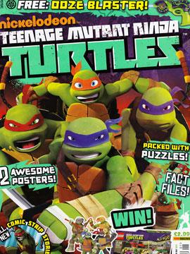 忍者神龟2012:UK杂志配套漫画
